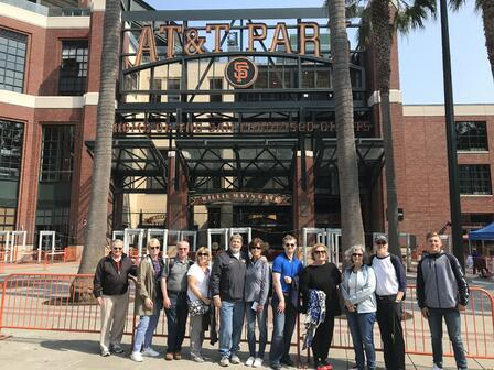 AT&T Park outside Aug 2018