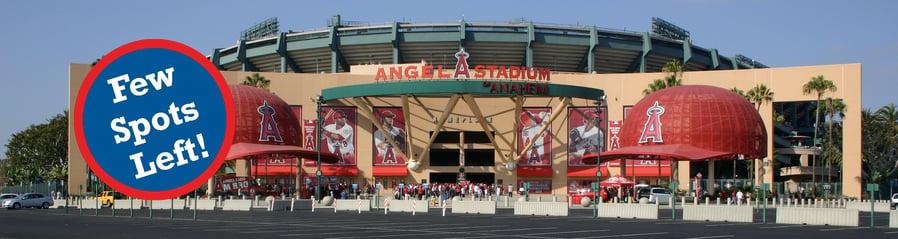 angel stadium few spots left