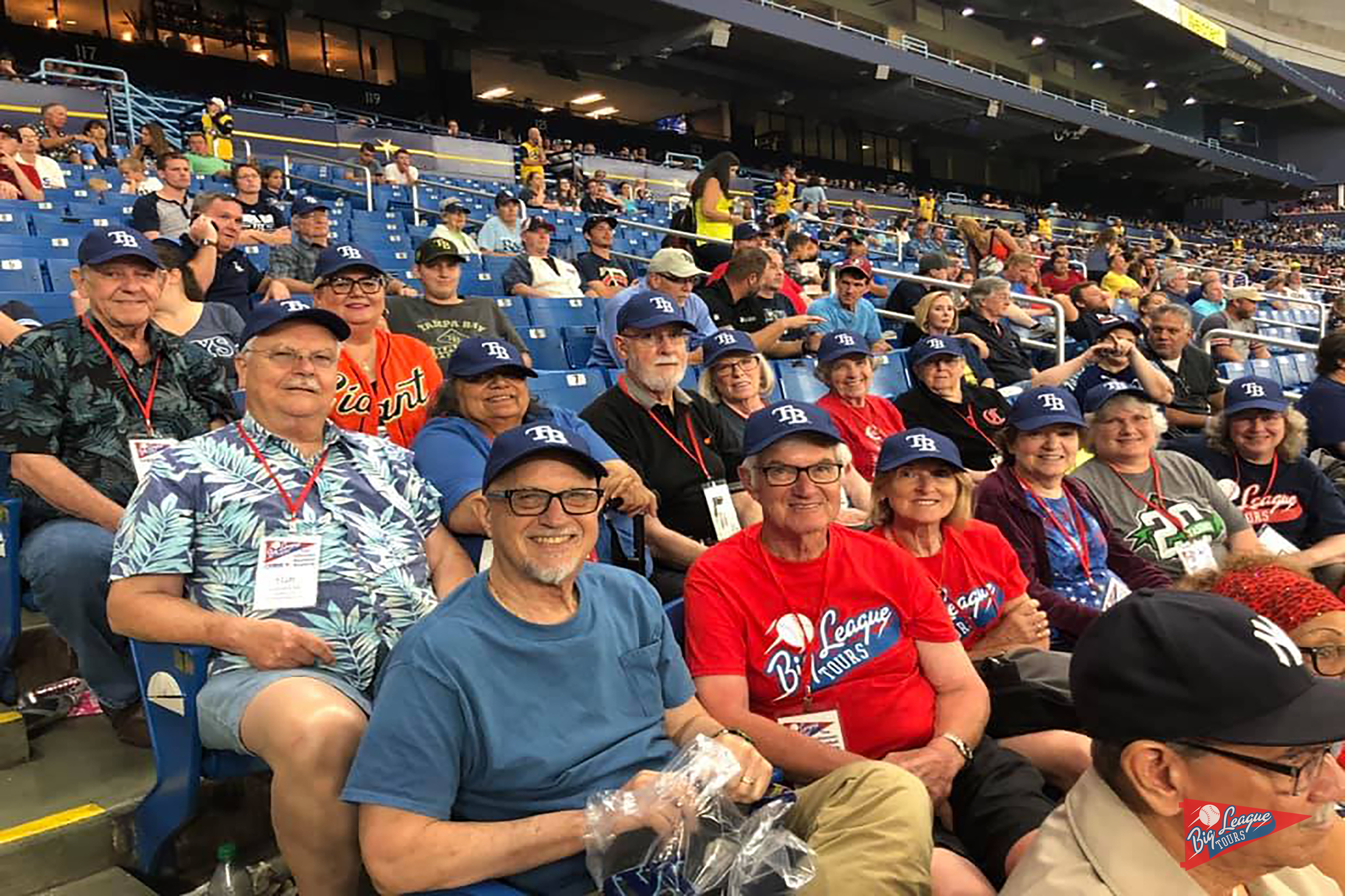 Guests at Tropicana Field